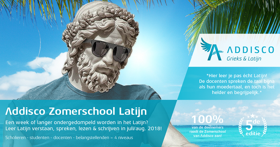 Addisco Zomerschool Latijn